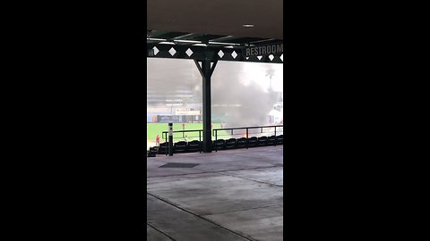 Fire Breaks Out at Spring Training Grounds of Los Angeles Angels