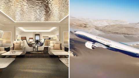 Boeing's Luxury Jet
