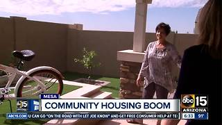 New community housing boom in Mesa - Video