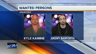 Oshkosh Police looking for two wanted men - Video