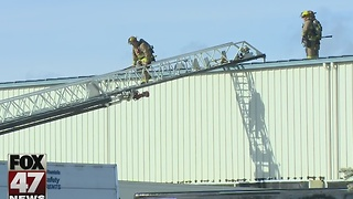 Warehouse fire in Delta Township could have been disastrous - Video