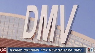 New Sahara DMV opened on Monday - Video