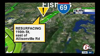 Road resurfacing project continues in Fishers - Video