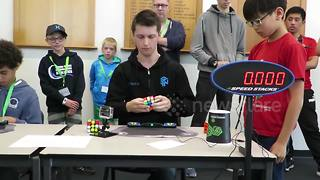 New Rubik's Cube World Record Set At 4.22 Seconds