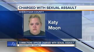 Corrections officer charged with sexually assaulting an inmate - Video