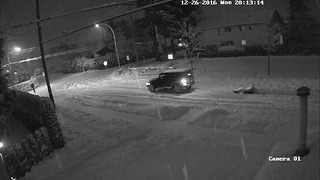A Year's Worth Of Security Footage Captures Dangerous Driving In Chilliwack, British Columbia  - Video