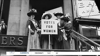 Celebrating 100 years of women's suffrage starting Tuesday
