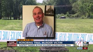 Friends care for Indian Creek victim's memorial - Video
