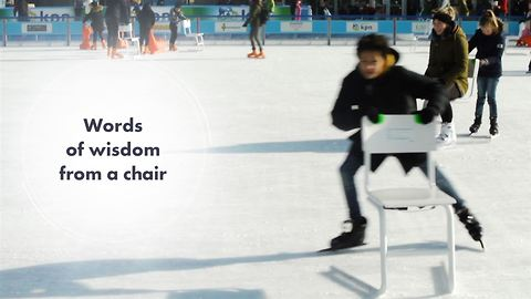 How do the Dutch kids learn ice skating in 2018?