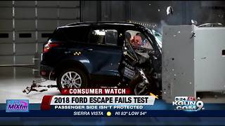 2018 Ford Escape fails crash test - Video