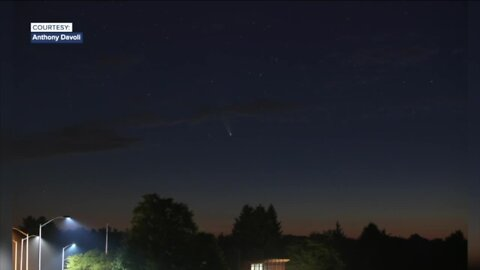 Look up and enjoy the view! Comet Neowise streaking across the sky in WNY