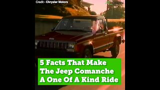 5 Things You Didn't Know About the Jeep Comanche