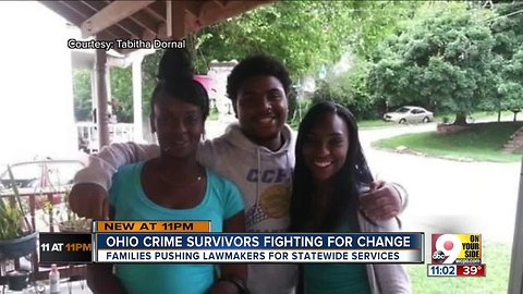 Murder victim's mother rediscovers her strength fighting for fellow survivors