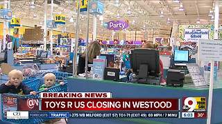 Westwood Toys 'R' Us closing down - Video