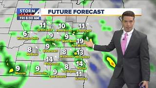 Mostly sunny Thursday, storms developing late