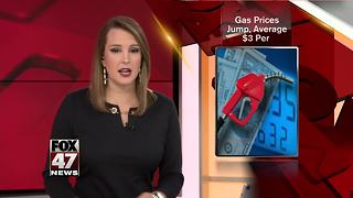 Michigan gas prices on the rise again