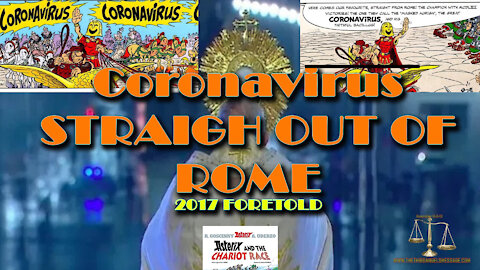 Coronavirus Straight Outta ROME - Asterix Cartoon 2017