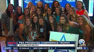 PBA softball presented conference title - Video