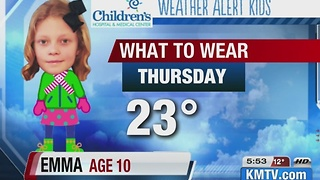 Weather Alert Kid - Video