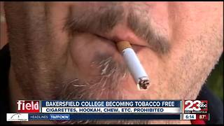 Bakersfield College becoming tobacco free campus - Video