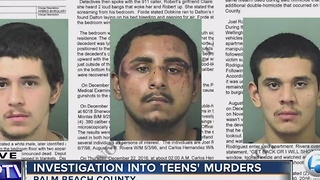 Investigation into teen's murders - Video