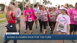 Live from the Susan G. Komen Race for the Cure