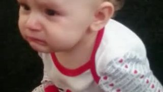 Baby Barely Holds Back Tears While Listening To Love Song - Video