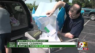 Spring cleaning? Here's what to throw out now
