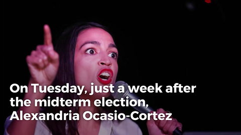 Ocasio-Cortez Shows Up at Pelosi's Office and Instantly Becomes Nightmare for Dem. Leader
