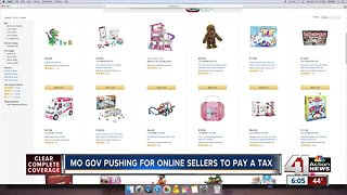 Gov. Parson wants online retailers to collect sales taxes