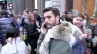 Scott Disick In Mourning - Video