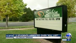 2 13-year-old boys arrested for alleged school threat - Video