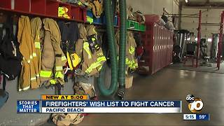 San Diego residents raising money to reduce cancer risks for firefighters