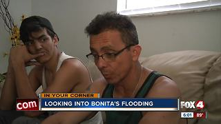 Parts of Bonita Springs still underwater - Video