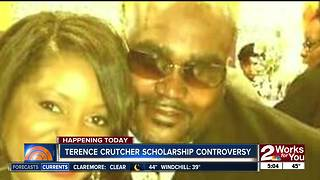 Press conference to address controversy over Terence Crutcher Scholarship Foundation - Video