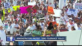 Hundreds march on Idaho State Capitol for