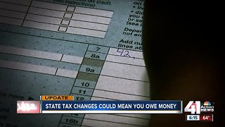 State tax changes could mean you owe money