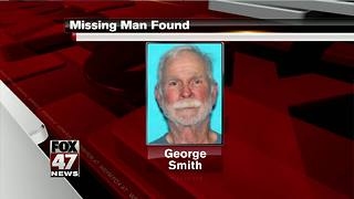 UPDATE: Missing elderly man found alive in swampy area - Video