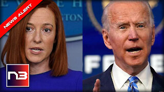 WATCH Psaki Run Cover for Biden's Most Disgraceful Move as President Yet