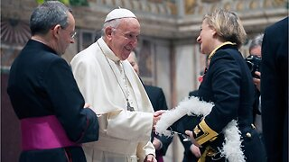Pope Francis names first woman to senior Vatican position