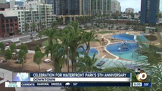 Celebration at Waterfront Park