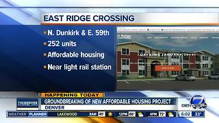 New affordable housing apartment complex coming to Green Valley Ranch - Video