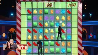 """Local Couple Competes on CBS Game Show """"Candy Crush"""""""