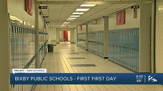 Project Safe Schools: Bixby Public School, Sending Half of the Students At A Time