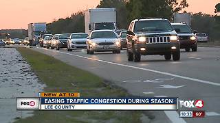 Easing traffic cogestion during season - Video