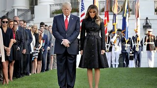 President Trump does tribute to 9/11