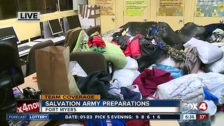 Salvation army offers weather shelters and warm clothing - Video