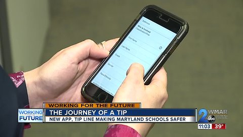 The journey of a tip: how a new app is preventing tragedy in MD schools