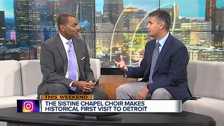 Sistine Chapel Choir performing in Detroit - Video
