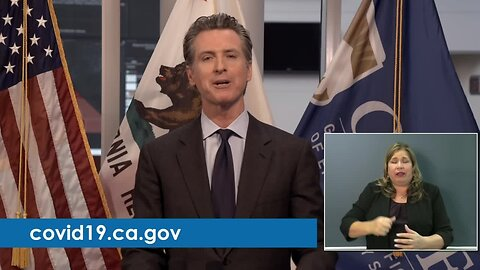 Gov. Newsom makes announcement